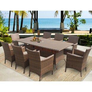 Laguna Patio Dining Chair with Cushion (Set of 8)
