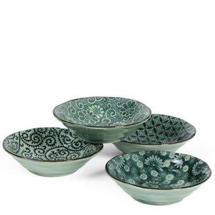 4 Piece 4 Oz. Dessert Bowl Set. By Miya Company
