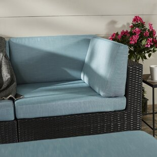 Chretien Patio Corner Seat Chair with Cushion