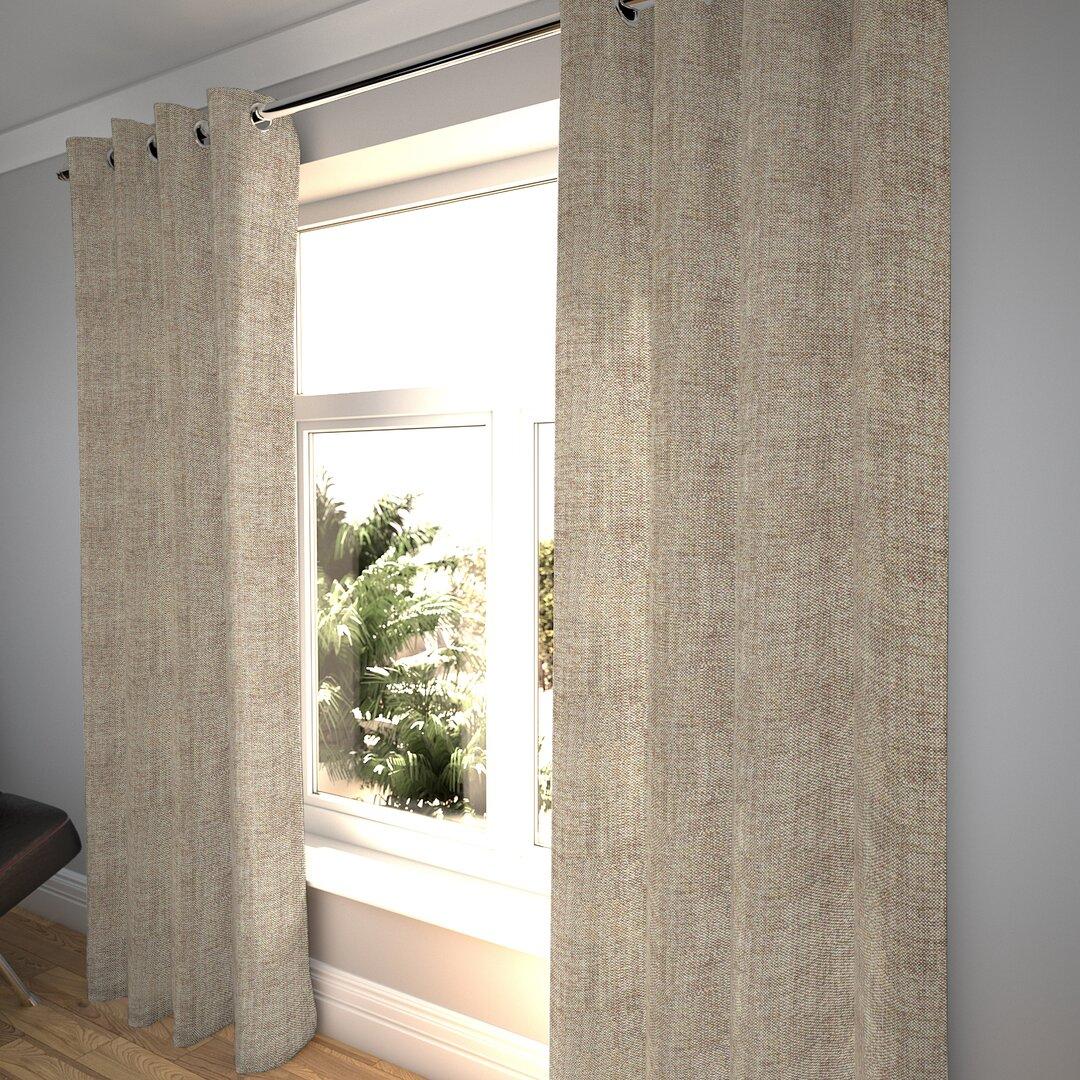 Timpkins Rhumba Tailored Eyelet Blackout Thermal Curtains