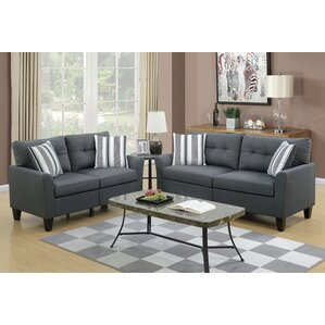 Wolfram 2 Piece Living Room Set Part 11