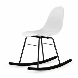 Ta Er Rocking Chair White - Underframe Black By Blatt