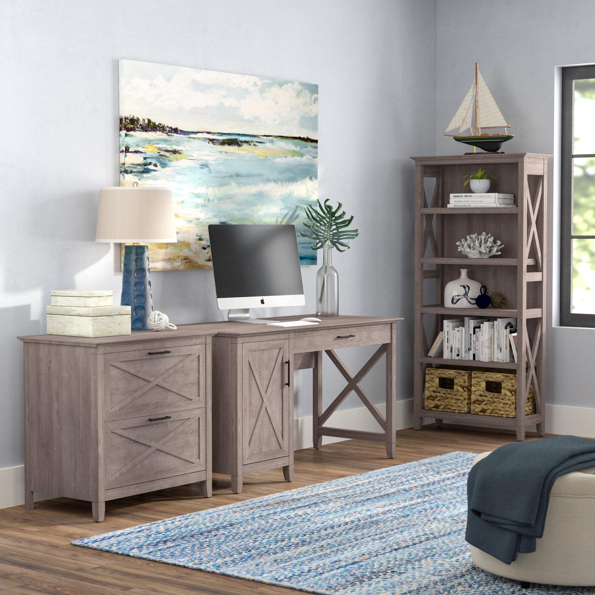 Beachcrest Home Cyra Desk 31 Piece Set & Reviews  Wayfair