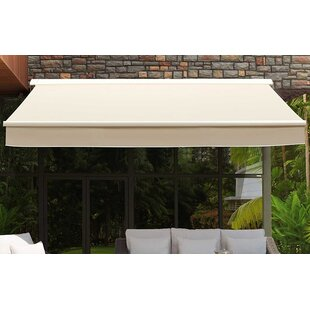 Sunjoy Classic 14 ft. W x 10.5 ft. D Retractable Patio Awning
