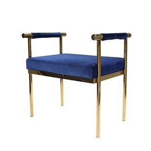 Oldene Upholstered Bench with Velveteen Seat