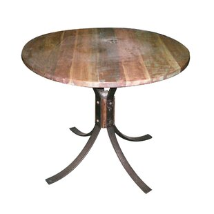 Boyles Wood and Iron Dining Table