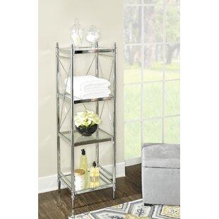 Deals Westra 16.14 W x 52.24 H Bathroom Shelf ByWilla Arlo Interiors