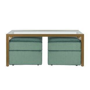 Juliette 3 Piece Coffee Table Set by CosmoLiving by Cosmopolitan