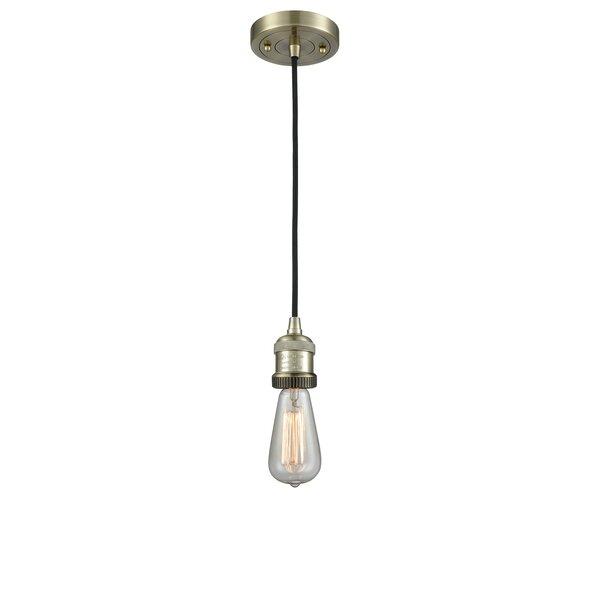 Mignone 1 Light Single Bulb Pendant Reviews Allmodern
