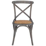 Doncaster Solid Wood Cross Back Side Chair by Gracie Oaks