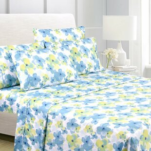 Calin Premium Floral Sheet Set