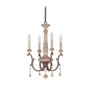 Astoria Grand Drumboe 4-Light Candle Style Chandelier