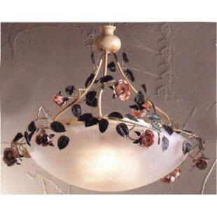 Bouquet 3-Light Bowl Pendant by Classic Lighting
