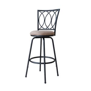 Lanark Adjustable Height Swivel Bar Stool