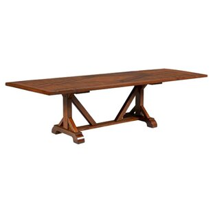 Rangel Drop Leaf Solid Wood Dining Table DarHome Co