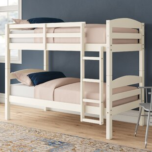 Abby Twin Over Twin Solid Wood Standard Bunk Bed by Viv + Rae™