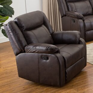 Novia Manual Recliner by Roundhill Furniture