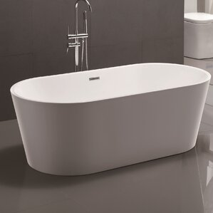 Freestanding Tubs You\'ll Love   Wayfair