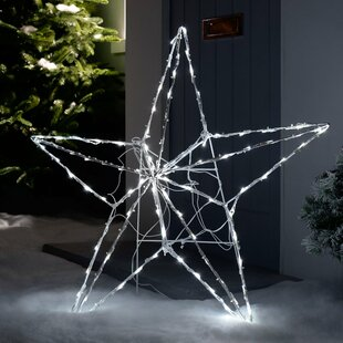 Pre-Lit Animated Multi-Function 3D Star Lighted Display Image