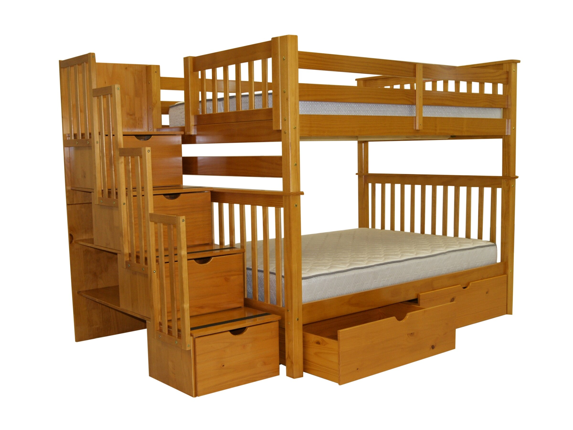 Tena Full over Bunk Bed with Extra Storage \u0026 Reviews | Birch Lane