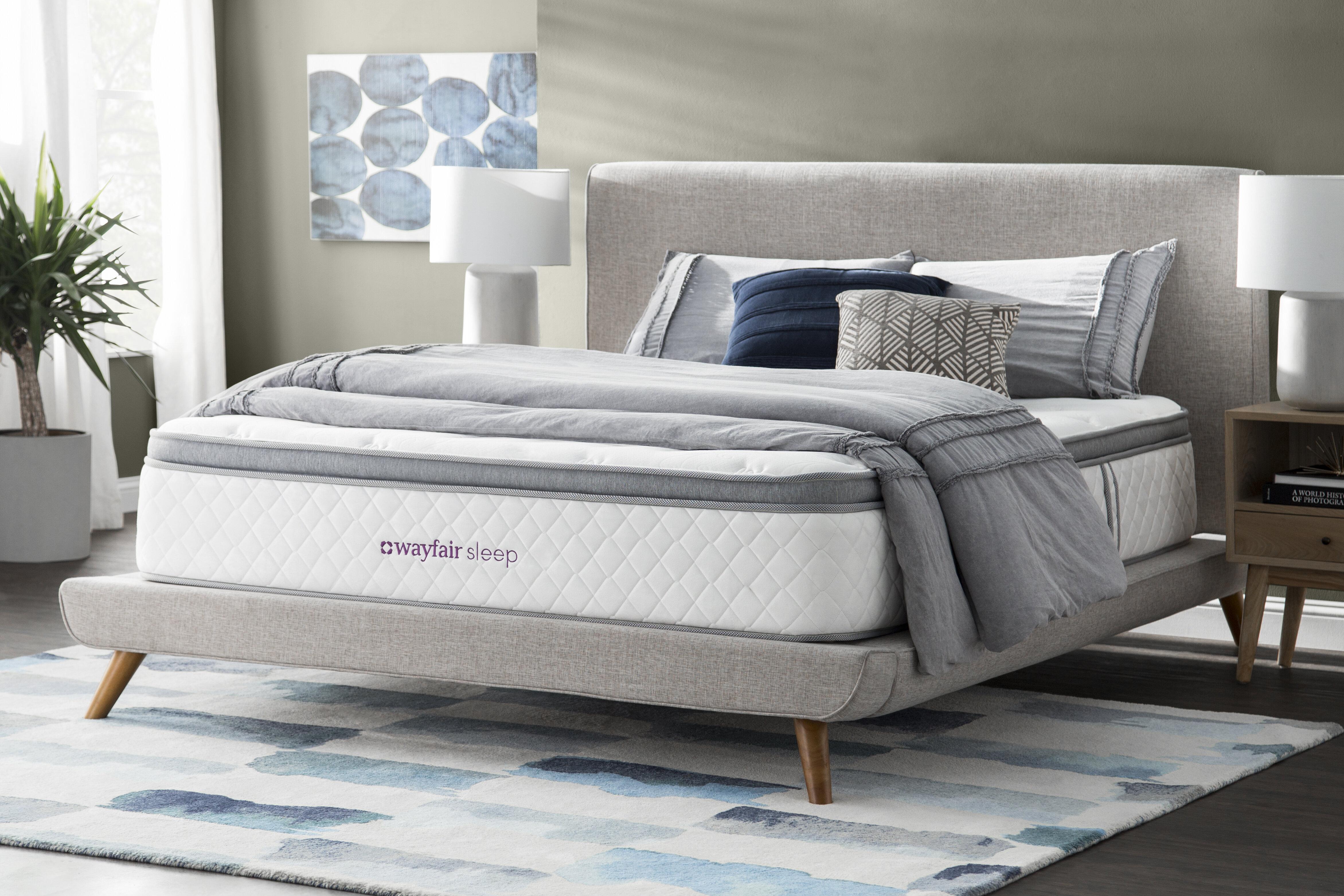 Plush Pillow Top Innerspring Mattress