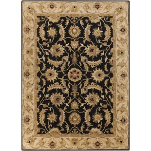 Reviews Garrison Caviar Hand-Knotted Wool Caviar Area Rug By Astoria Grand
