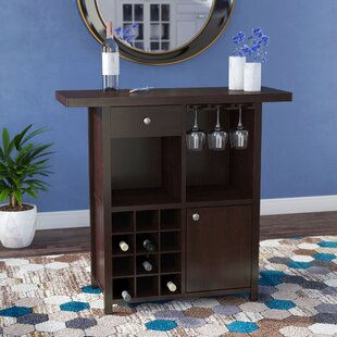 Zechariah Wine Bar Cabinet