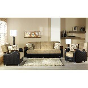Luna 3 Piece Living Room Set by Decor+