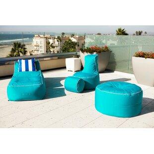 Sunbrella Bean Bag Set by Hip Chik Chairs