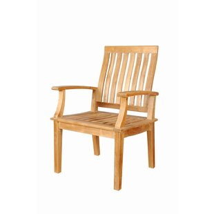 Brianna Teak Patio Dining Chair