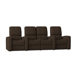 Latitude Run Home Theater Loveseat (Row of 4)