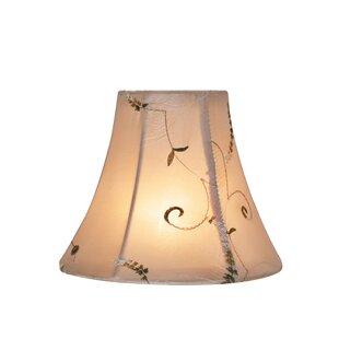 6 Silk Bell Candelabra Shade (Set of 2)