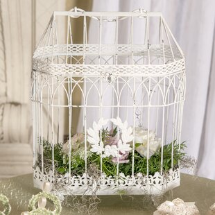 Wedding card boxes youll love wayfair conservatory style bird cage altavistaventures Gallery