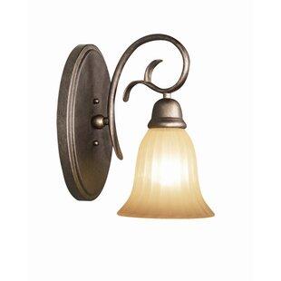 Clifton 1-Light Bath Sconce by Woodbridge Lighting