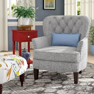 Randles Button Tufted Armchair Alcott Hill