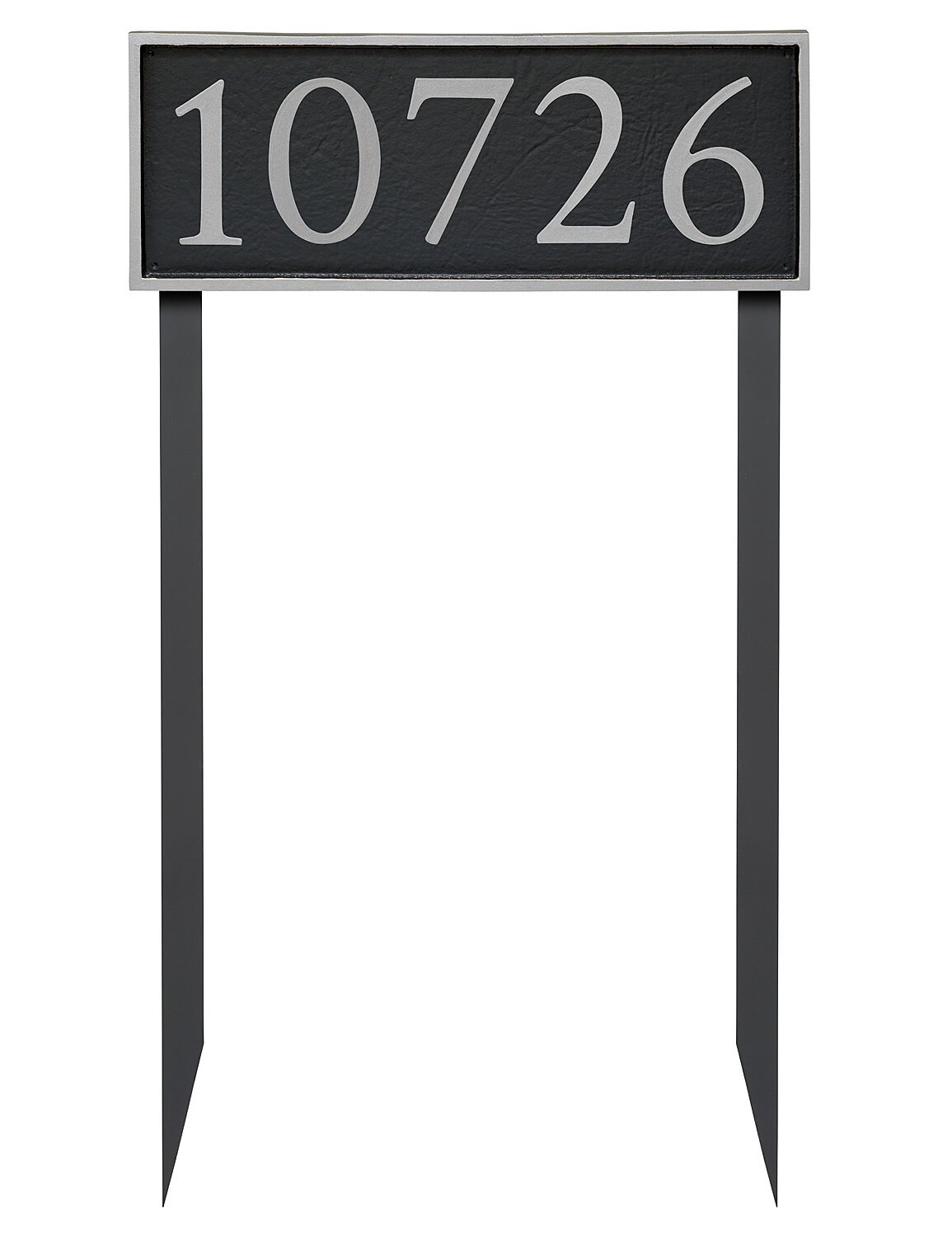 Montague Metal Products Serif 1 Line Lawn Address Sign Wayfair
