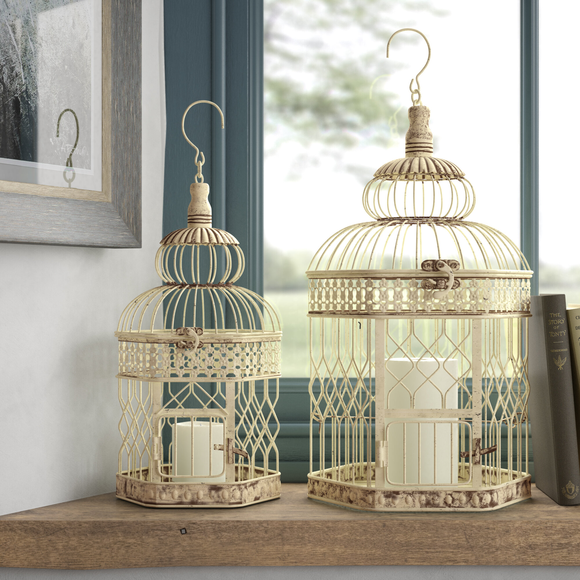 Decorative Bird Houses Cages You Ll Love In 2021 Wayfair