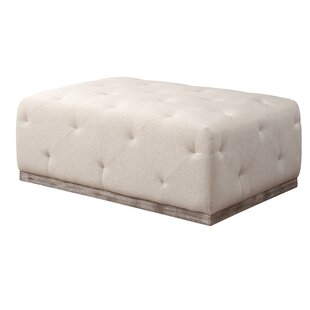 Rithland Rectangle Tufted Cocktail Ottoman by Gracie Oaks