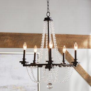Byromville 5-Light Chandelier by One Allium Way