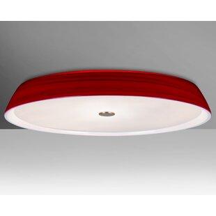 Brayden Studio Speier 3-Light Flush Mount