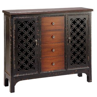 Winooski 2 Door/4 Drawer Accent Cabinet by World Menagerie
