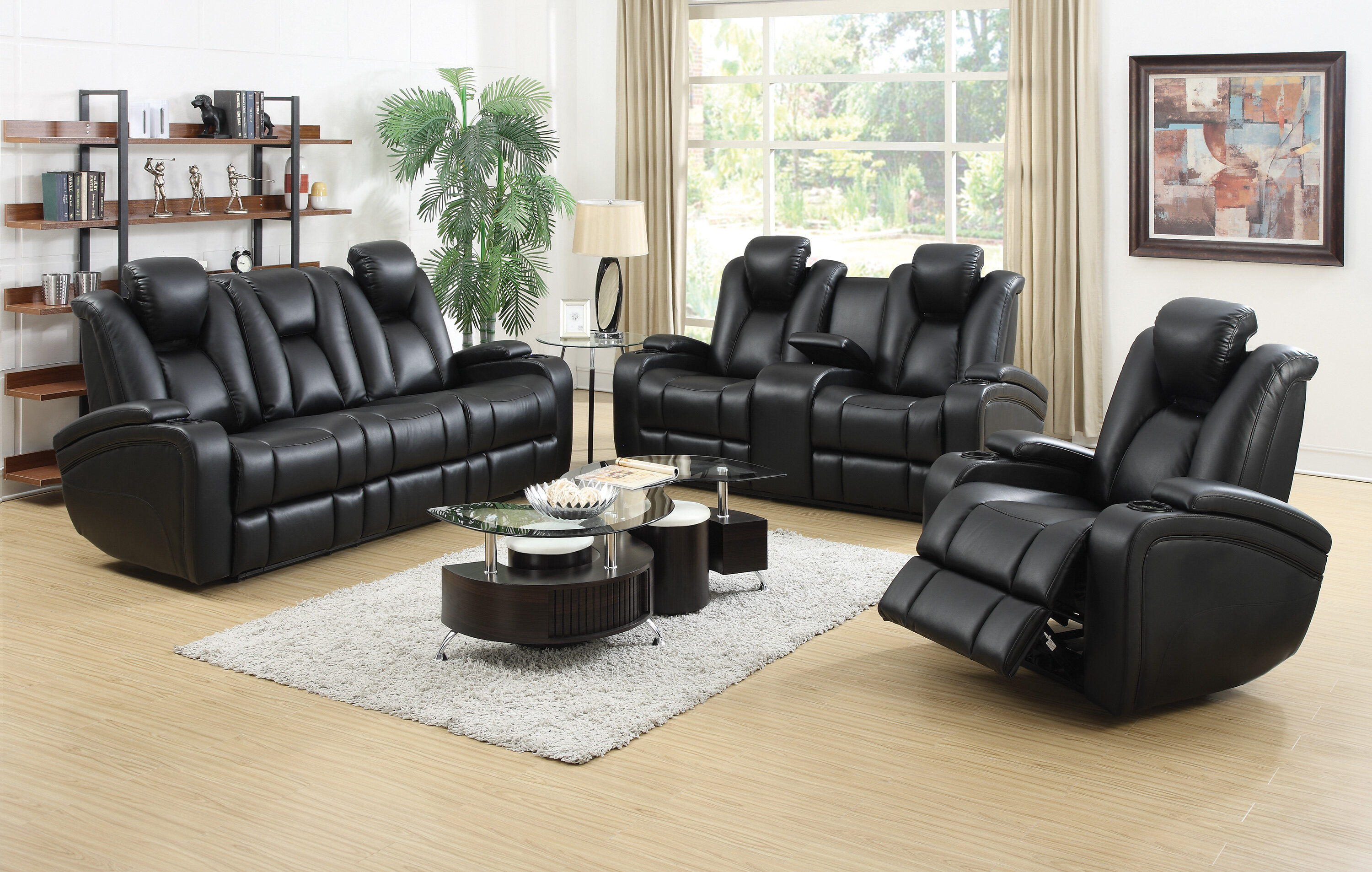 Reclining Living Room Sets You Ll Love ~ Baycliffe Reclining Sofa Reviews