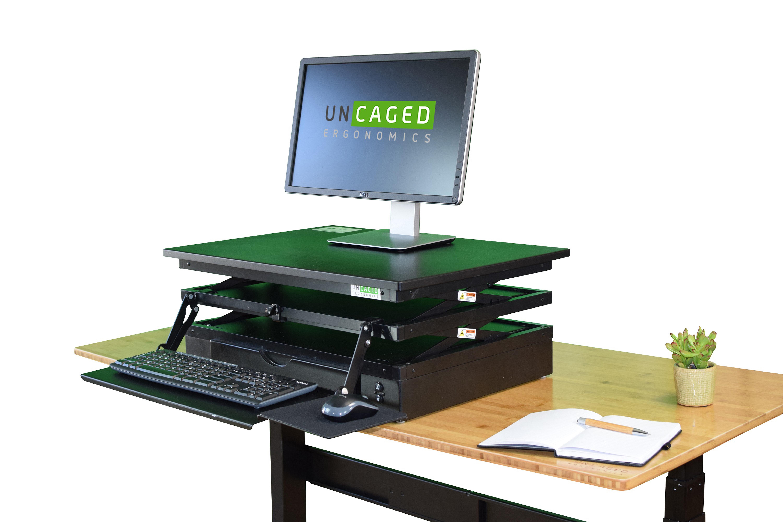 Uncaged Ergonomics Standing Desk Converter Wayfair