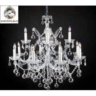 Astoria Grand Alvarado 13-Light Silver Ch..