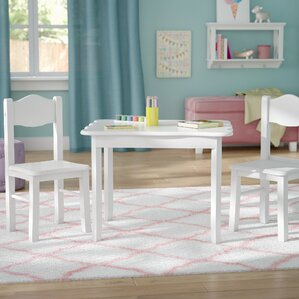 Matilda Kidsu0027 3 Piece Table And Chair Set