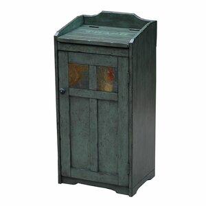Wood 13 Gallon Trash Can