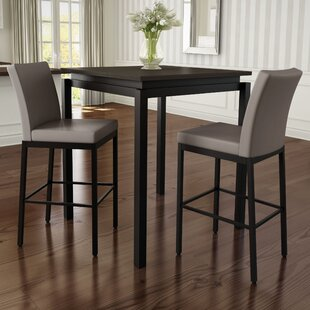 Staley 5 Piece Pub Table Set b..