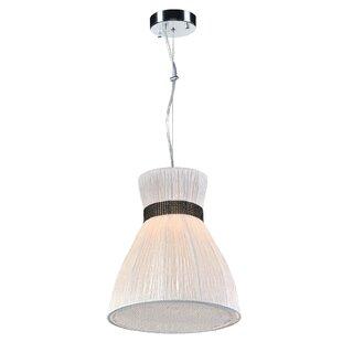 Beliveau 1-Light Bell Pendant by George Oliver
