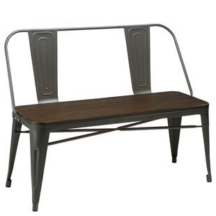 Peetz Metal Bench