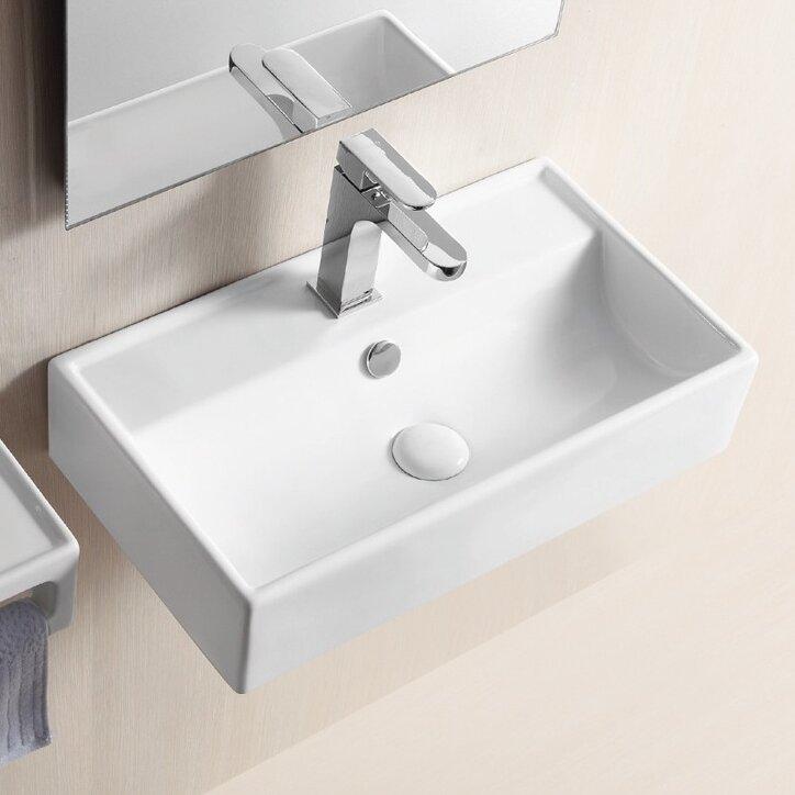 ... Wall Mount Bathroom Sinks; Part #: Caracalla CA4335; SKU: QLA1073.  Default_name